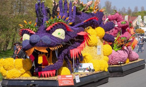 Flower parade 2020 on Saturday 25 April